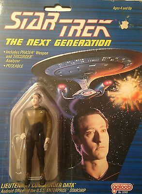 Data - Star Trek Next Generation Collectible Figure - New in Package