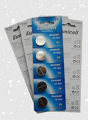 20 CR2032 2032 DL2032 ECR2032 5004LC Card 3V Lithium Button Battery