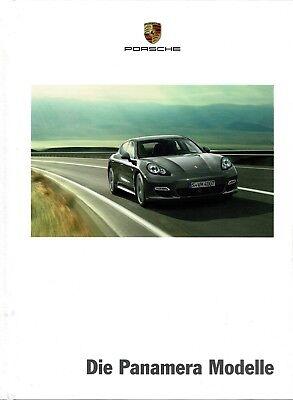 Porsche Panamera hardback brochure/leaflet/Prospekt 3/2012 (German edition)
