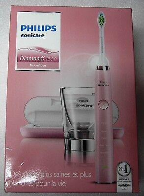 Sonicare Diamondclean Schallzahnbürste Wiederaufladbare. HX9362 Pink Edition ()