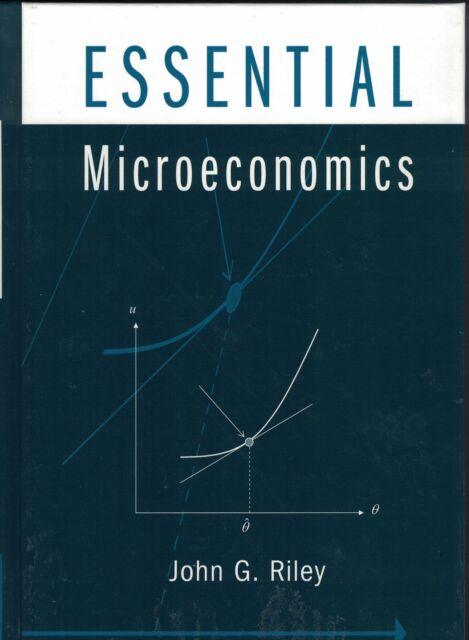 Essential Microeconomics by John G. Riley (Hardback) 9780521827478