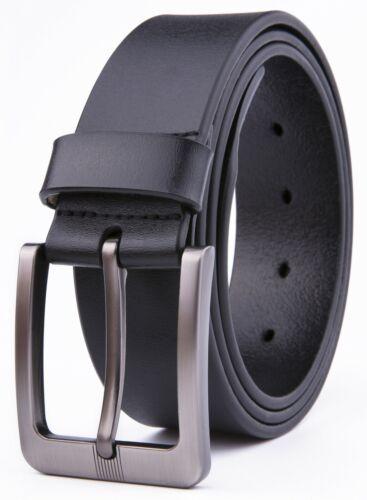 Mens Genuine Leather Dress Belt Handmade, 1.5inch Width Strap