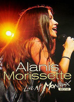 Alanis Morissette  Live At Montreux 2012 Dvd  New  Free Ship  Concert Tour