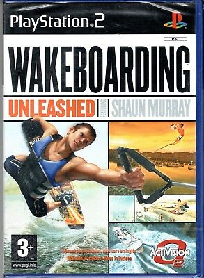 Gioco NEW SEALED Play Station 2 PS2 WAKEBOARDING ITA