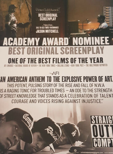 Straight Outta Compton INDUSTRY AD Best Original Screenplay Jason Mitchel
