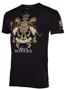 Billabong Bob Marley Men's House of Marley T-Shirt-Black-Medium