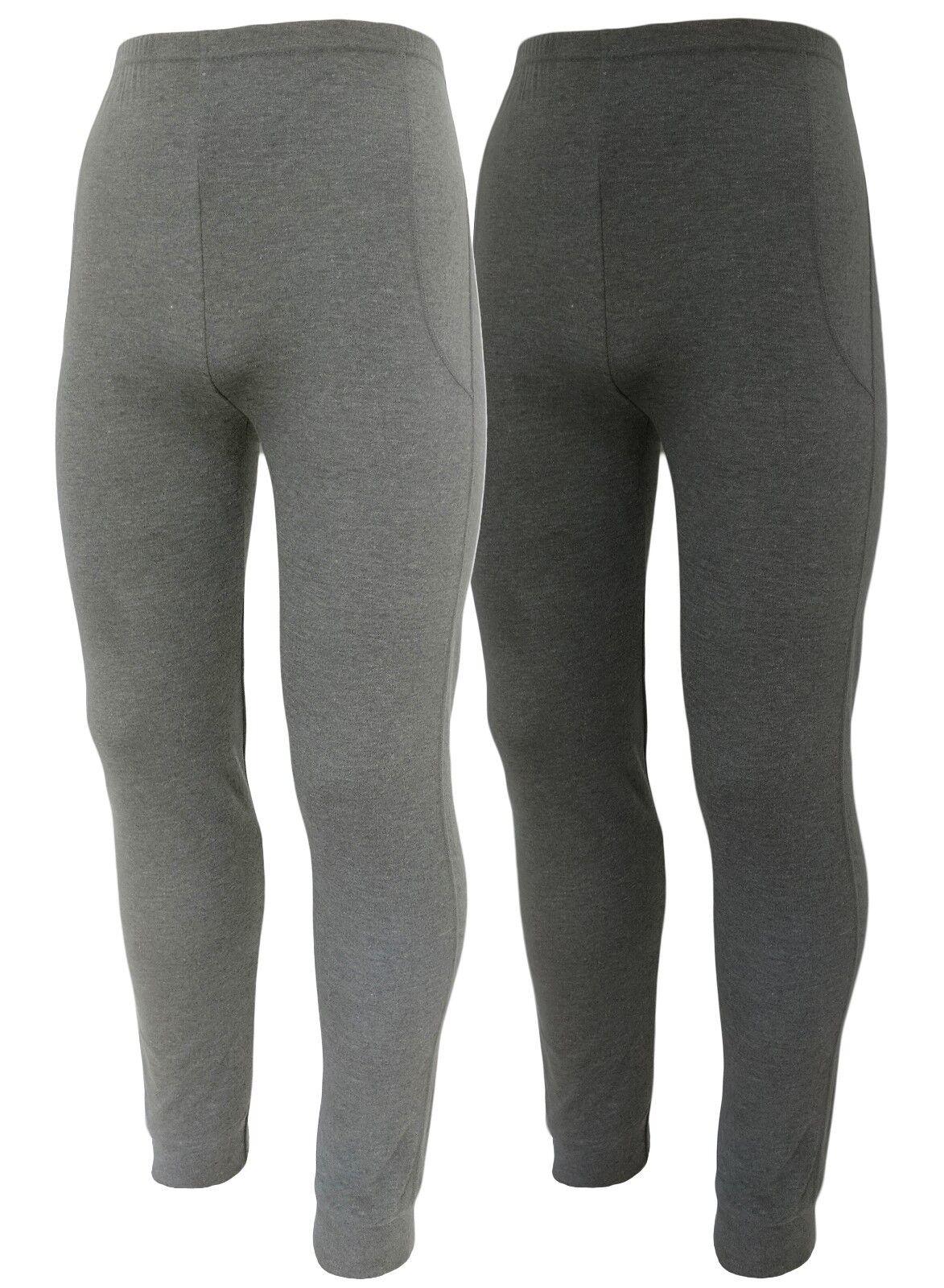 Lange Unterhose Männer Leggings 2x Herren Sport Funktions Leggings Arbeitswäsche