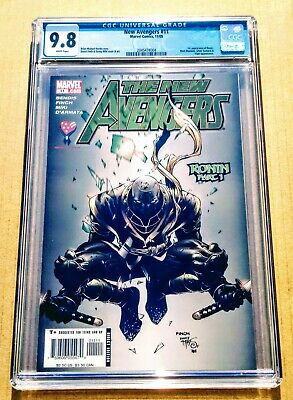 New Avengers #11 CGC 9.8 NM/MT 1st First Appearance Of Ronin! White Pages!](White Avenger)