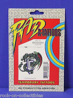 Deep Purple 1993 Sealed Package of 2 Temporary Tattoos Original