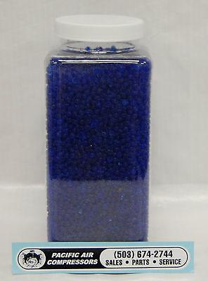1 Quart Silica Gel Desiccant Blue Beads Air Dryer Parts Color Change Desiccant