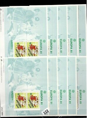 // 10X PORTUGAL - MNH - EUROPA CEPT 1981 - MADEIRA - COSTUMES