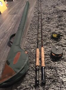 Fly Fishing Starter Kit - 2 Rods and Reels Like New