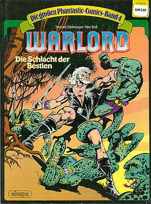 Die großen Phantastic Comics #4 - Warlord , Ehapa, Z1-2 (Mike Grell)