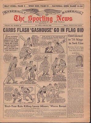 The Sporting News Magazine June 22 1963 Bing Devine 091117Jhsn2