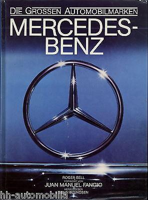 Buch Mercedes-Benz 1980 Die großen Automobilmarken C111 Juan Manuel Fangio 280SL