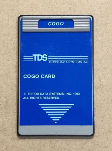 TDS COGO Card for HP 48GX / 48SX Calculators