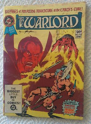 """The Warlock in """"The Deimos Saga"""" DC Comics 1981"""