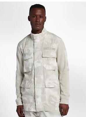 09348f92b0797 Used, Nike Sportswear NSW Camo Jacket Light Bone White M-65 928621 XL for