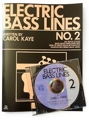 Electric Bass Lines No. 2 - Book and CD