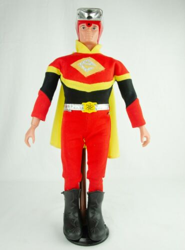 "Vintage CLEAN 1977 Ideal Toys Electroman 16"" Action Figure"
