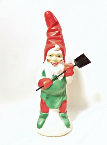 Vintage Elf Blow Mold Christmas