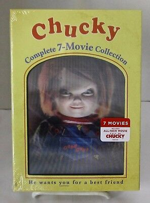 Chucky: Complete 7-Movie Collection 7 Disc DVD Set Lenticular Cover DigiPack - Halloween Film Complet 2017