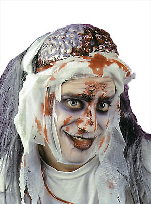 Dripping Bleeding Brain Headpiece Makeup Scary Look Halloween Funworld - Scary Halloween Makeup For Men