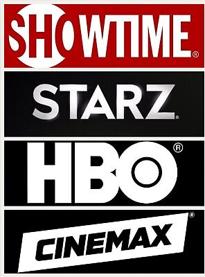 Hbo  Starz  Showtime  Cinemax  All For One Price   Warranty