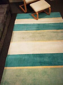 Beautiful well-maintained soft rug in Mediterranean colours Rhodes Canada Bay Area Preview