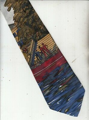 New 1930s Mens Fashion Ties Rare-1930s Fashion-[Andre]-100% Silk Tie-Made In Italy-63-Men's Tie $38.61 AT vintagedancer.com