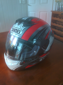 Shoei Motorbike Helmut Large Virginia Brisbane North East Preview