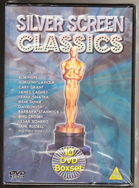 SILVER SCREEN CLASSICS - OUTLAW, BALI, SUDDENLY - NEW & SEALED R2 10 DVD BOXSET