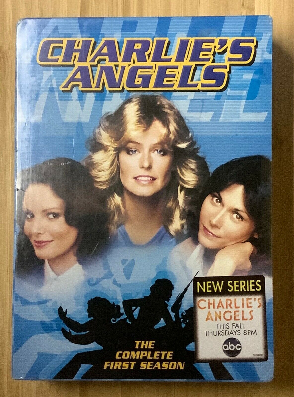 Charlie s Angels 1976 First Season DVD Farrah Fawcett Kate Jackson NEW SEALED - $20.00