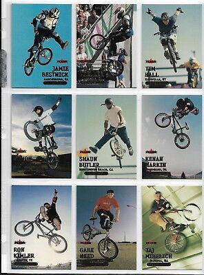 2000 ADRENALINE COMPLETE BMX CYCLING GOLD 32 CARD SET ~ MATT HOFFMAN ~ BESTWICK