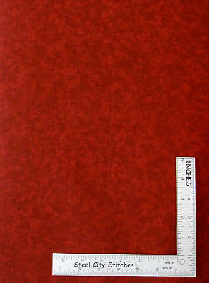 Red Tonal Blender Cotton Fabric For Quilts Sewing Craft Projects By The Yard