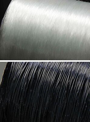 (0,30€/1m) Gummifaden elastisch 10m 0,4/0,5/0,6/0,7/0,8/1mm Nylonfaden Gummiband
