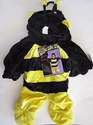Plush Bumble Bee Infant Costume - Complete - Size 6-12 months NWT - Infant Bee Costume