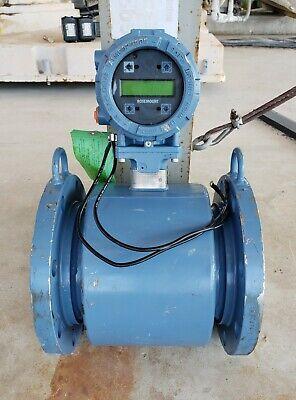 Rosemount 8705 Flanged Magnetic Flow Meter Sensor