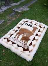 PERU - beautiful carpet, rug, alpaca, super soft. Brand new Lane Cove North Lane Cove Area Preview