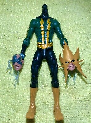 Marvel legends Spider-man ELECTRO space Venom Baf+👀 Look!