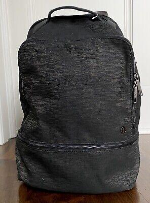 NEW LULULEMON City Adventurer Backpack Bag 17L Black Aqueous Ikat NWT