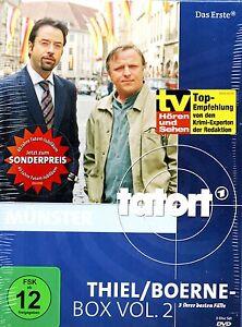 40 Jahre TATORT - Münster THIEL/BOERNE DVD-BOX Vol. 2 Das Erste ARD NEU in Folie