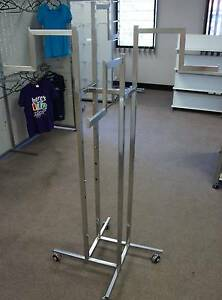 4 Way Clothing Racks- Adjustable Arms Loganholme Logan Area Preview