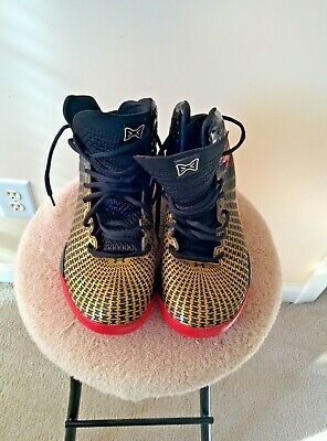 Under Armour Clutchfit Basketball Shoes Micro G  Black/Gold Men's Size 7.5 US