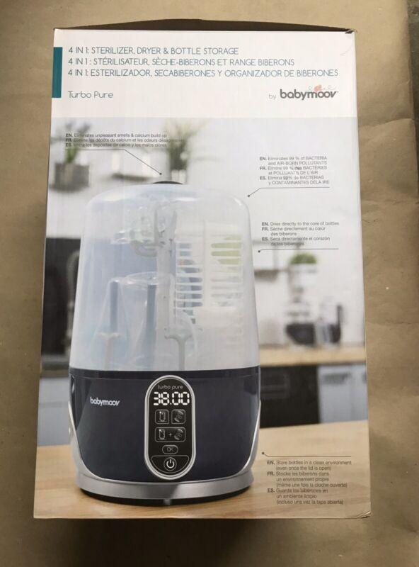 Babymoov A003107 4 In 1 Sterilizer Dryer Bottle Storage  HEPA **NEW!***