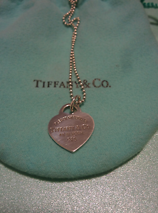 RETURN TO TIFFANY HEART TAG NECKLACE North Sydney North Sydney Area Preview