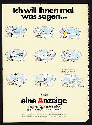 3w984/ Alte Reklame - von 1984 - Dies ist eine ANZEIGE