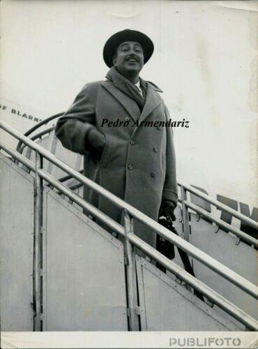 Original photograph Pedro Armendariz (Mexican/America actor) 1956