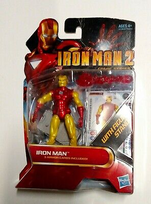 """Iron Man 2 Movie Action Figure 3.75"""" MOC Comic Series IRONMAN 28 for sale  Shipping to India"""