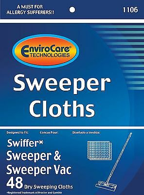 48 Swiffer Sweeper Dry Sweeping Cloth Refills